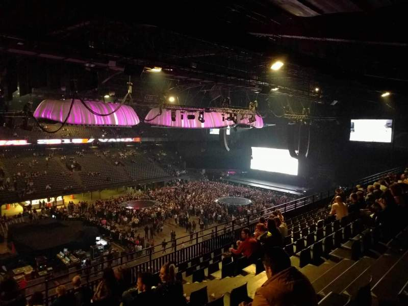 Sportpaleis, section: 219, row: 10 , seat: 7