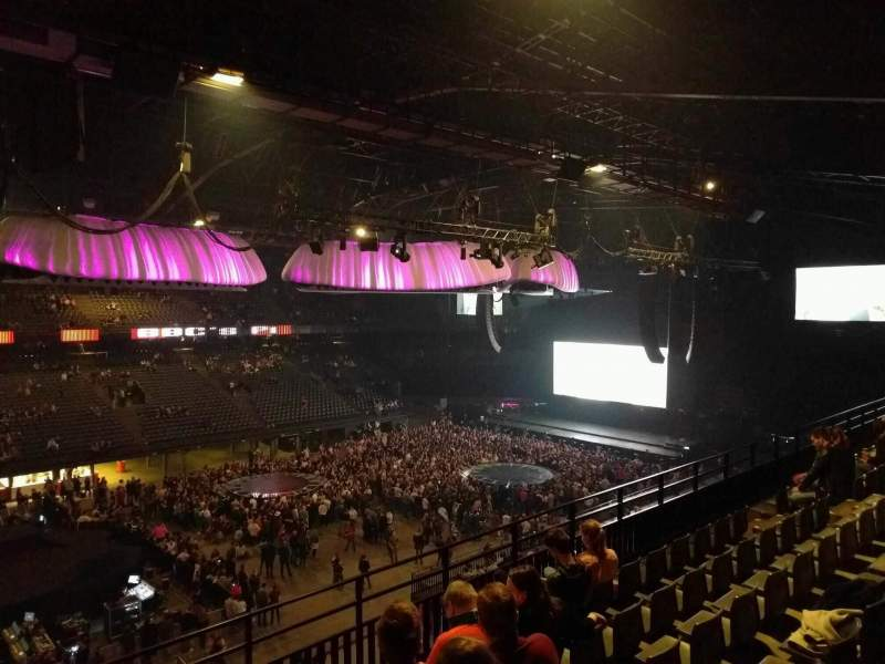Sportpaleis, section: 218, row: 6, seat: 3