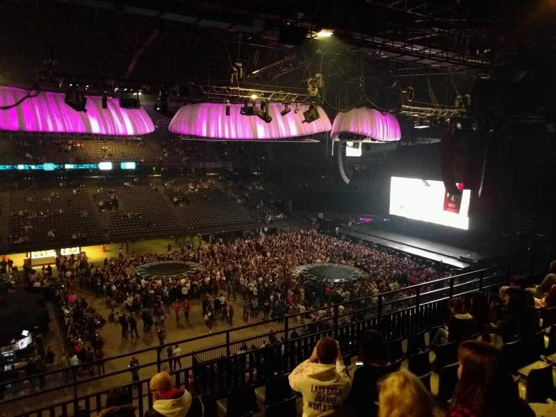 Sportpaleis, section: 217, row: 7, seat: 3