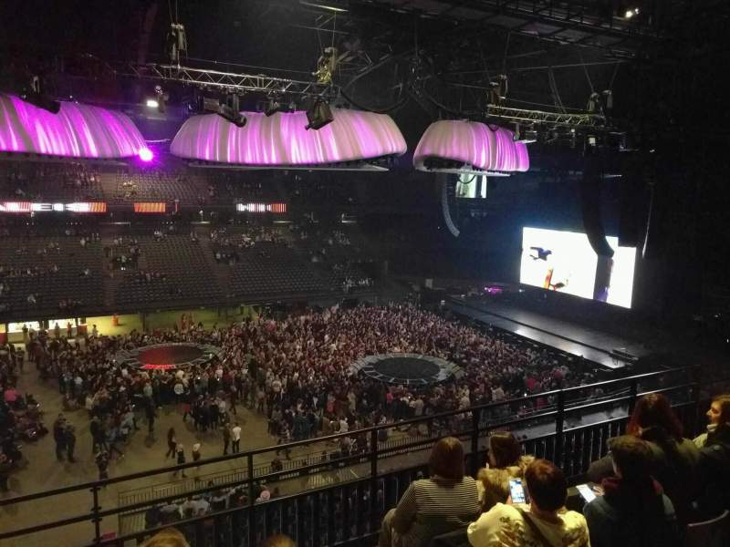 Sportpaleis, section: 216, row: 5, seat: 2