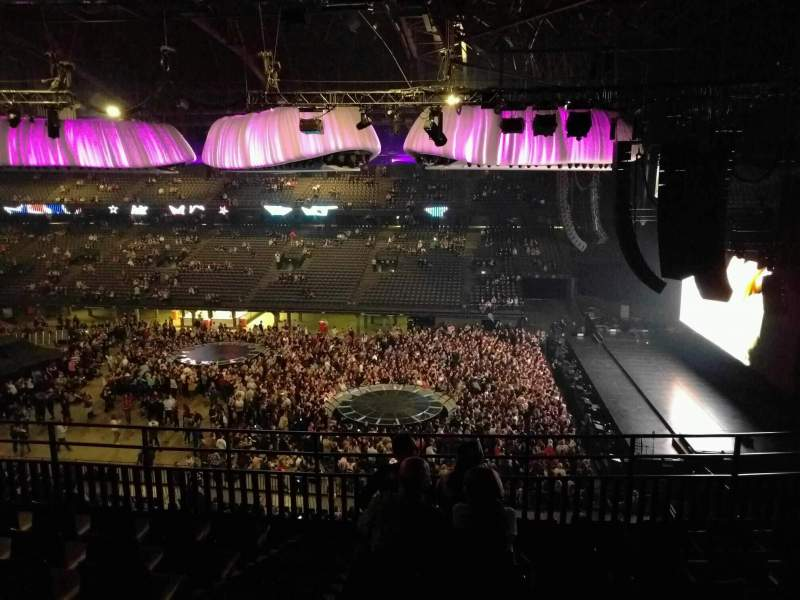 Sportpaleis, section: 210, row: 7, seat: 1