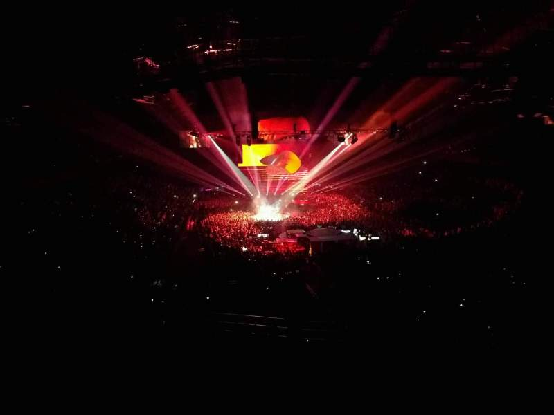 Sportpaleis, section: 232, row: 10, seat: 1