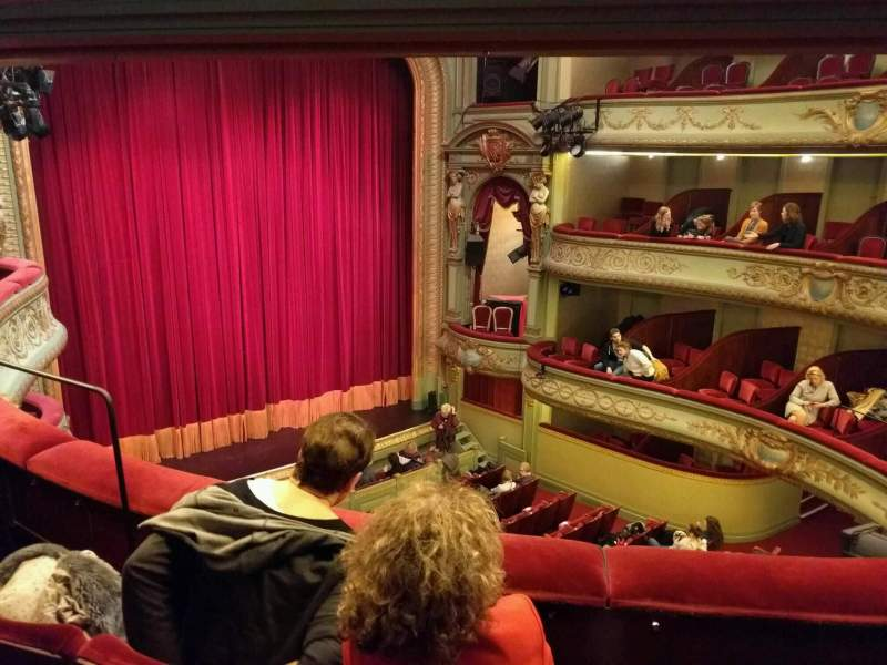 Seating view for Théâtre Royal du Parc Section Troisième Balcon Row c Seat 51