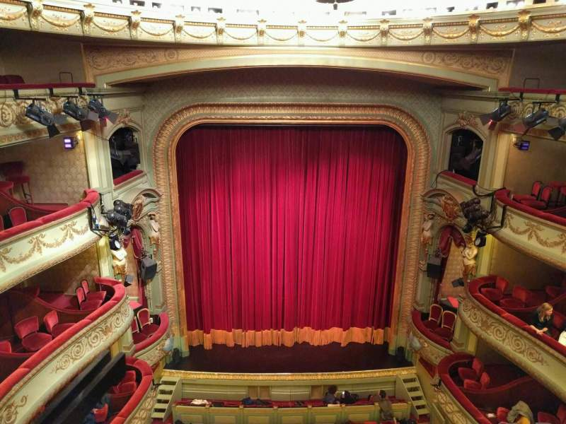 Seating view for Théâtre Royal du Parc Section Quatrième Balcon Row a Seat 51