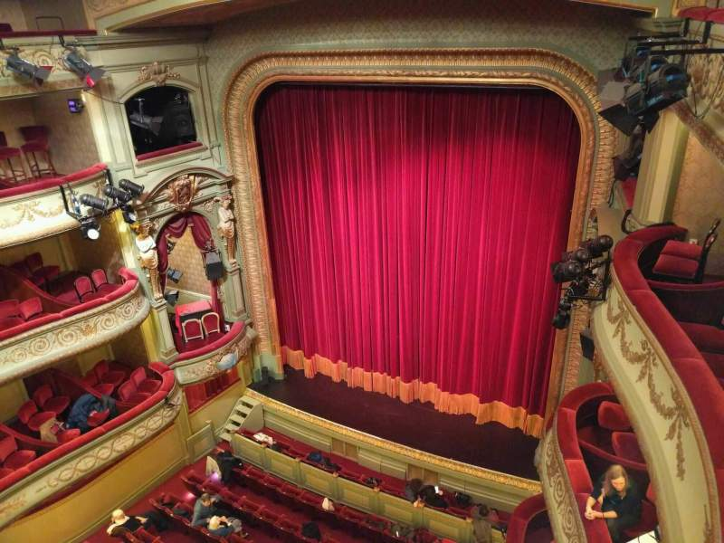 Seating view for Théâtre Royal du Parc Section Quatrième Balcon Row a Seat 28