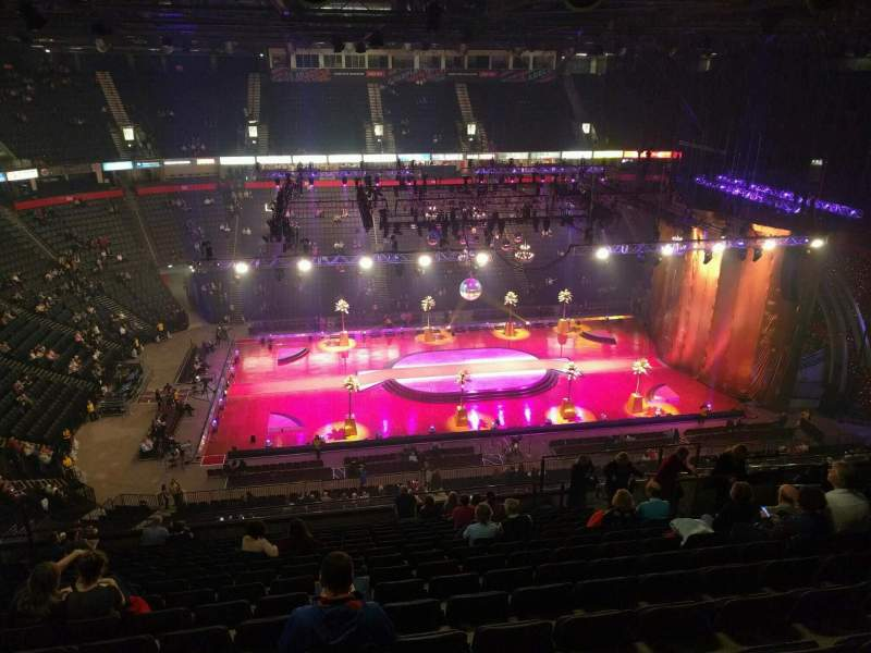 Seating view for Manchester Arena Section 213 Row r Seat 17