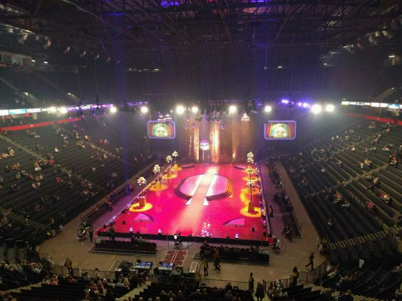 Manchester Arena, section: 209, row: c, seat: 10