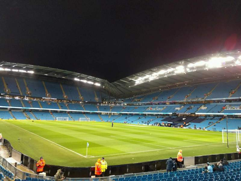 Etihad Stadium (Manchester), section: 140, row: s, seat: 1126