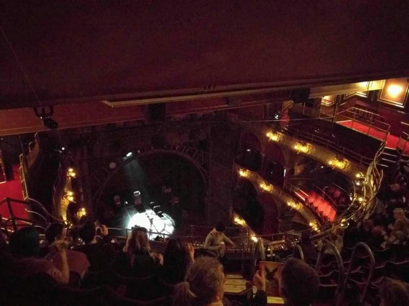 Palace Theatre West End Section Balcony Row J Seat 25