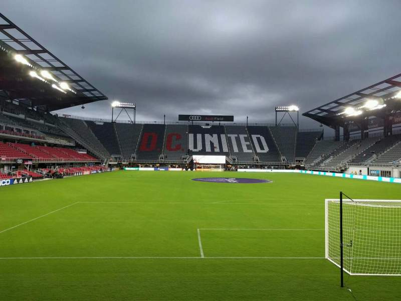 Seating view for Audi Field Section 138 Row 3 Seat 8