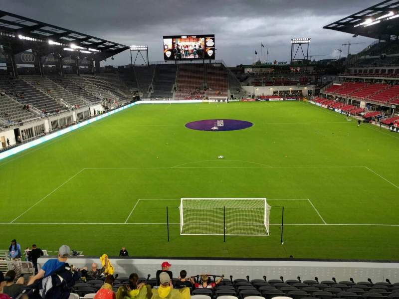 Seating view for Audi Field Section 117 Row 20 Seat 17