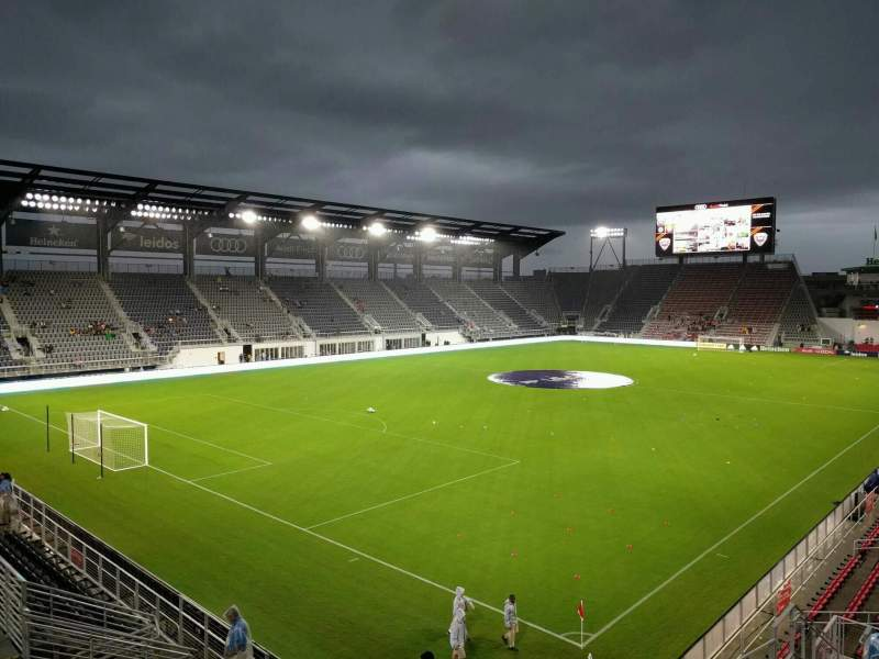 Seating view for Audi Field Section 113 Row 15 Seat 5