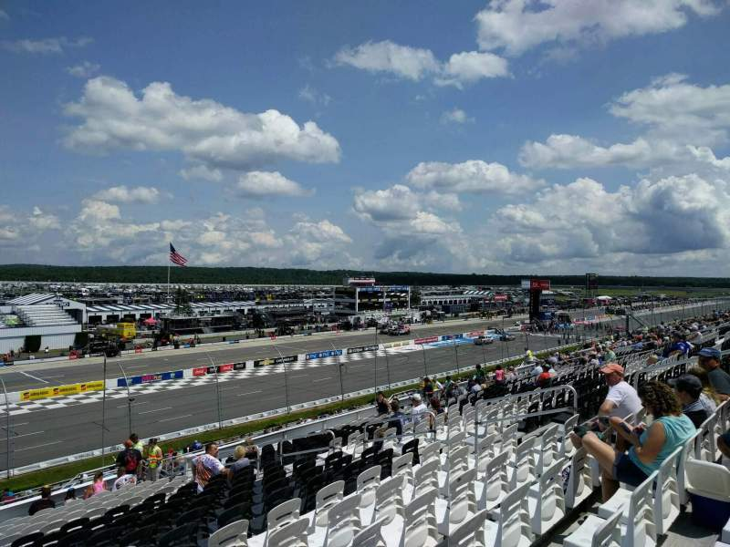 Seating view for Pocono Raceway Section 236 Row 37 Seat 12
