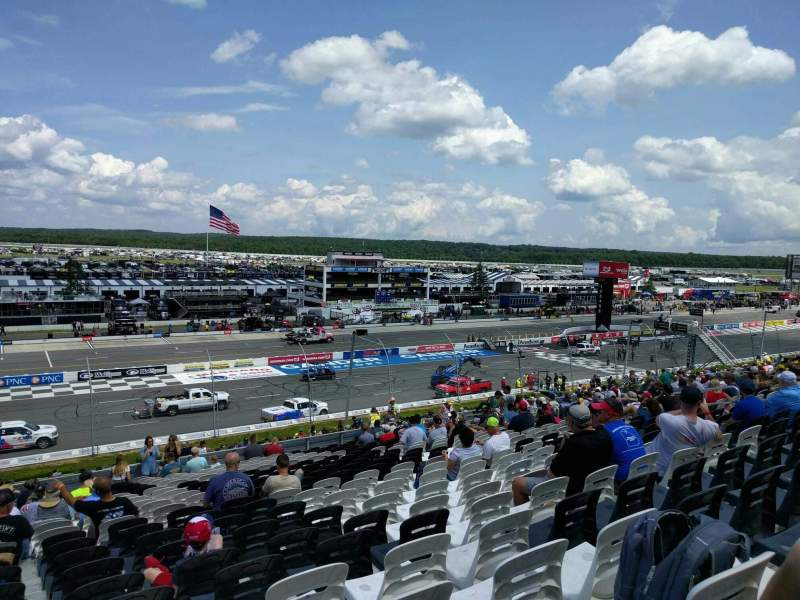 Seating view for Pocono Raceway Section 230 Row 40 Seat 20