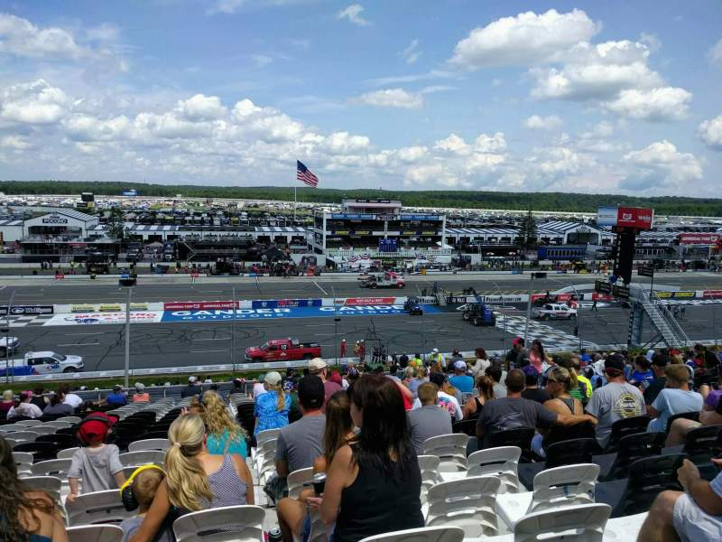 Seating view for Pocono Raceway Section 228 Row 38 Seat 12