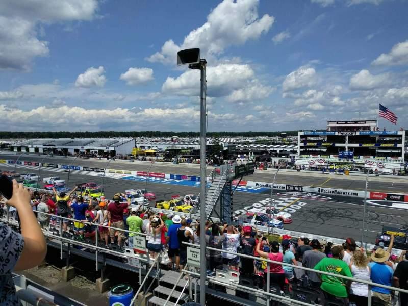 Pocono Raceway, section: 225, row: 19, seat: 21