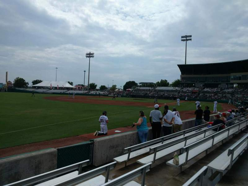 Seating view for Nelson W. Wolff Municipal Stadium Section 119 Row f Seat 6