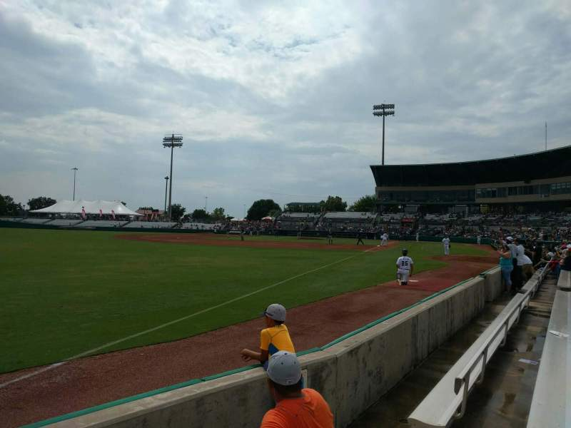 Seating view for Nelson W. Wolff Municipal Stadium Section 121 Row d Seat 6