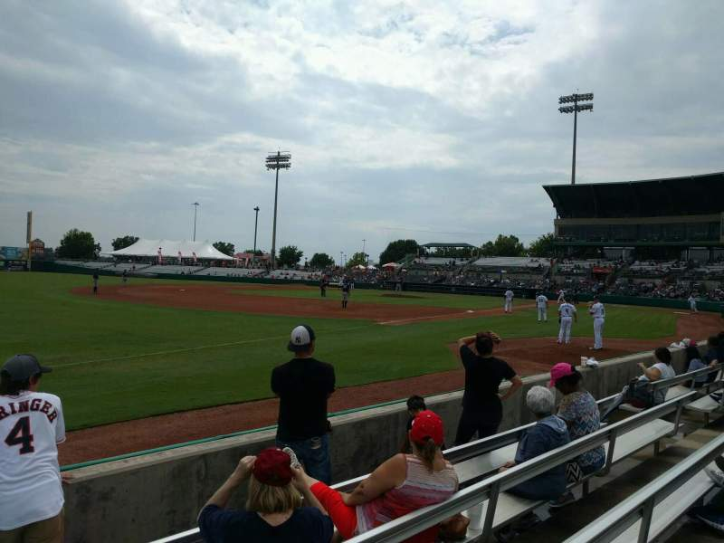 Seating view for Nelson W. Wolff Municipal Stadium Section 117 Row e Seat 16