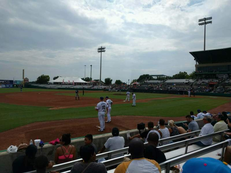Seating view for Nelson W. Wolff Municipal Stadium Section 115 Row f Seat 15