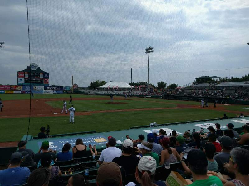 Seating view for Nelson W. Wolff Municipal Stadium Section 111 Row j Seat 17