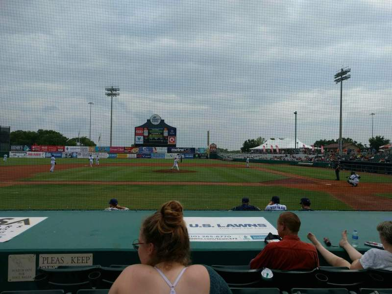Seating view for Nelson W. Wolff Municipal Stadium Section 107 Row g Seat 14