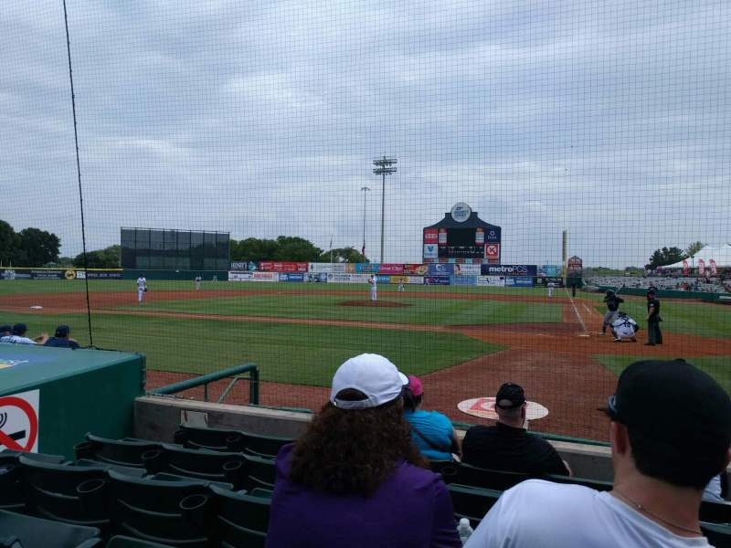 Seating view for Nelson W. Wolff Municipal Stadium Section 105 Row f Seat 5