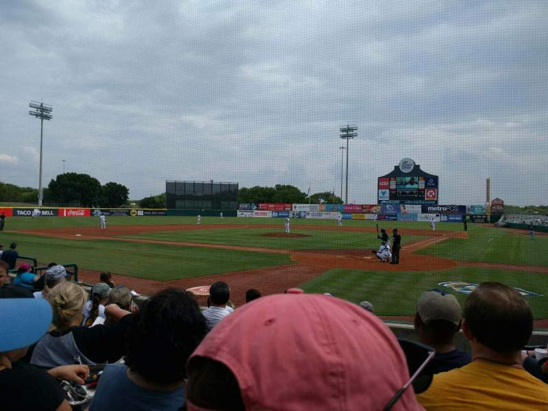 Seating view for Nelson W. Wolff Municipal Stadium Section 103 Row i Seat 2