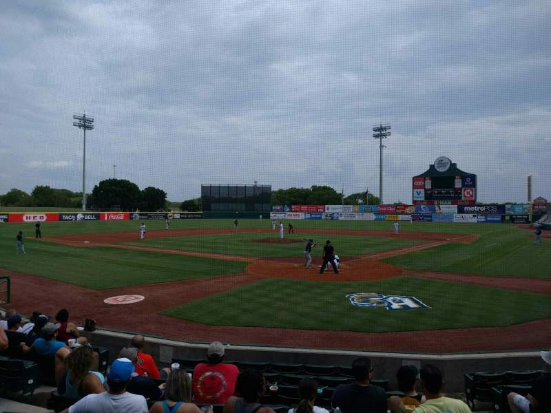 Seating view for Nelson W. Wolff Municipal Stadium Section 101 Row wc Seat 3