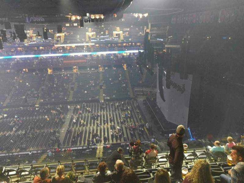 Seating view for Nationwide Arena Section 202 Row l Seat 13