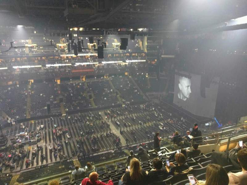 Seating view for Nationwide Arena Section 204 Row n Seat 14