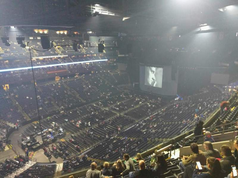 Seating view for Nationwide Arena Section 206 Row l Seat 14
