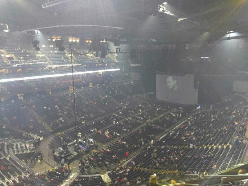 Seating view for Nationwide Arena Section 207 Row h Seat 7