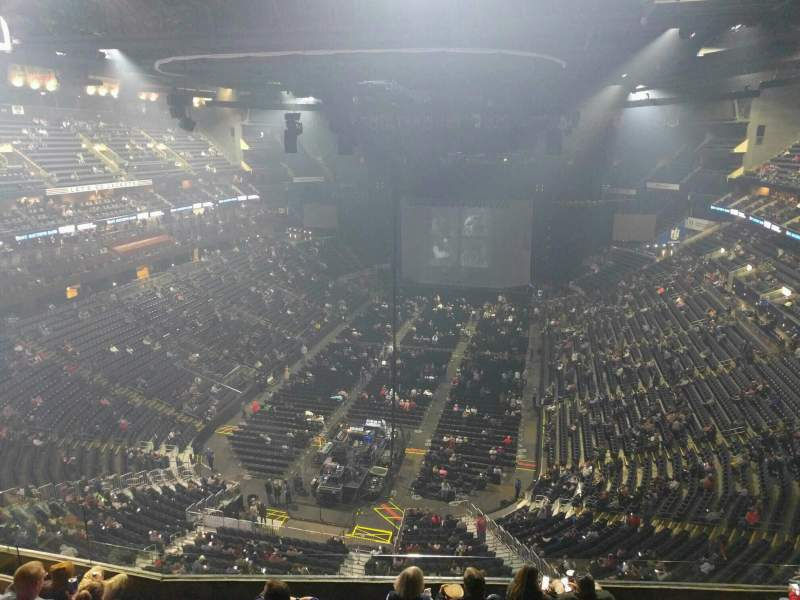 Seating view for Nationwide Arena Section 209 Row h Seat 13