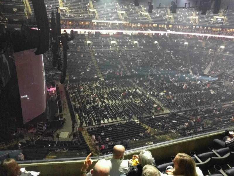 Seating view for Nationwide Arena Section 219 Row d Seat 9