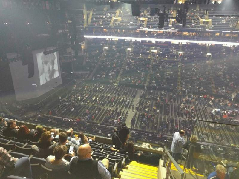 Seating view for Nationwide Arena Section 217 Row j Seat 1