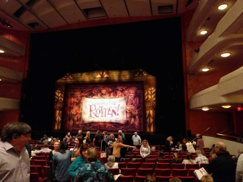 Seating view for Thrivent Hall at Fox Cities Performing Arts Center Section Orchestra R Row r Seat 153