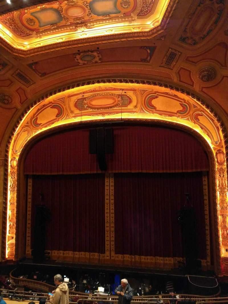 Seating view for Shea's Buffalo Section Balcony 3 Row f Seat 8