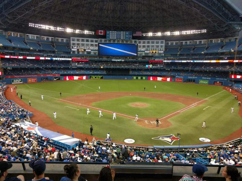 Seating view for Rogers Centre Section 225l Row 5 Seat 101
