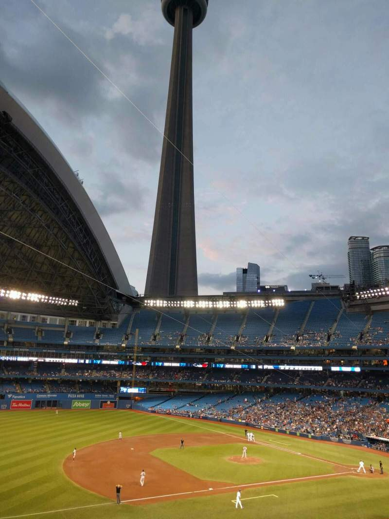 Seating view for Rogers Centre Section 233r Row 5 Seat 5