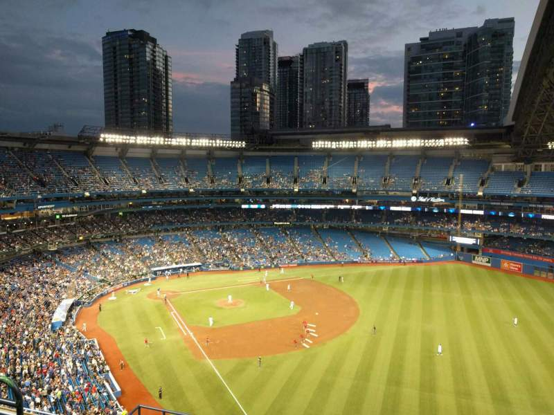 Seating view for Rogers Centre Section 511r Row 12 Seat 7