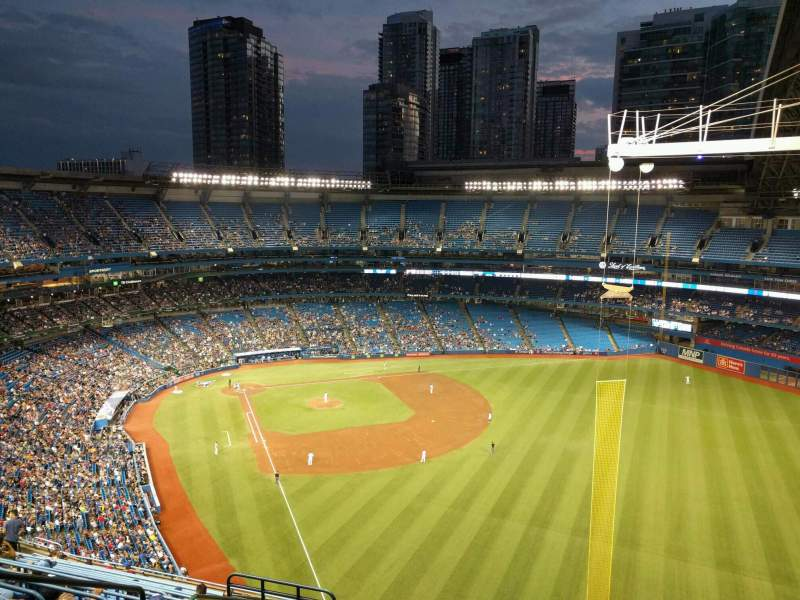 Seating view for Rogers Centre Section 509r Row 18 Seat 6