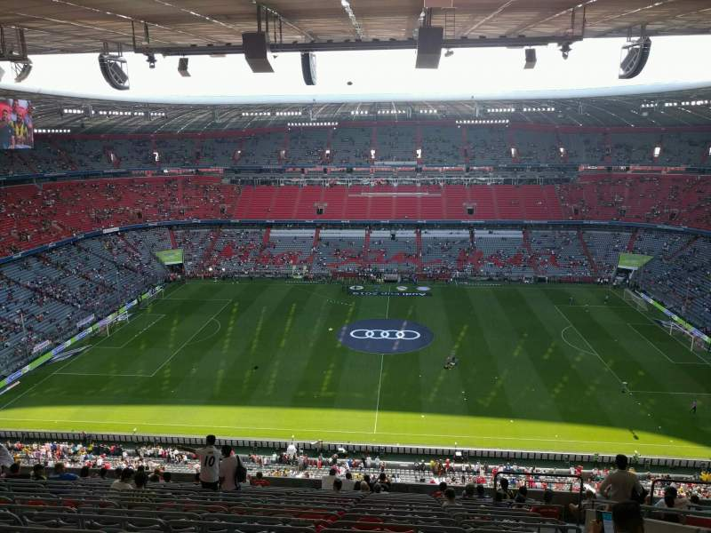 Seating view for Allianz Arena Section 328 Row 17 Seat 8