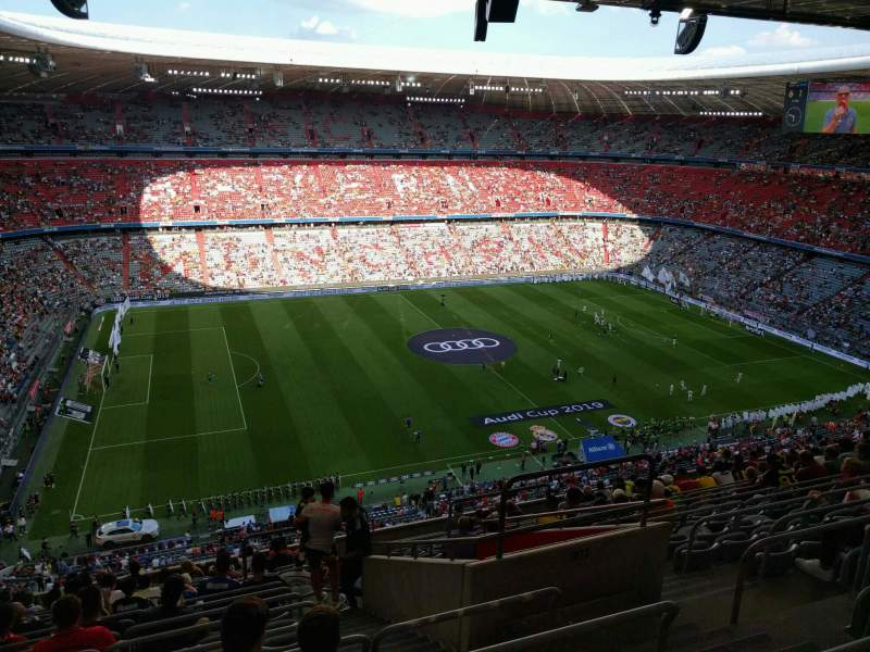 Seating view for Allianz Arena Section 301 Row 15 Seat 11