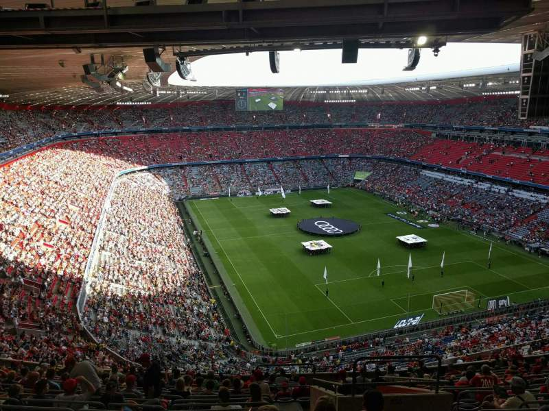 Seating view for Allianz Arena Section 336 Row 17 Seat 11