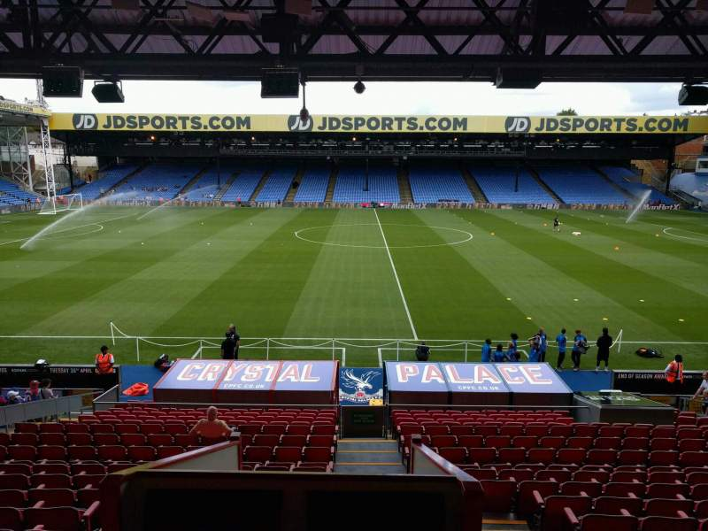 Seating view for Selhurst Park Section F Row 22 Seat 20