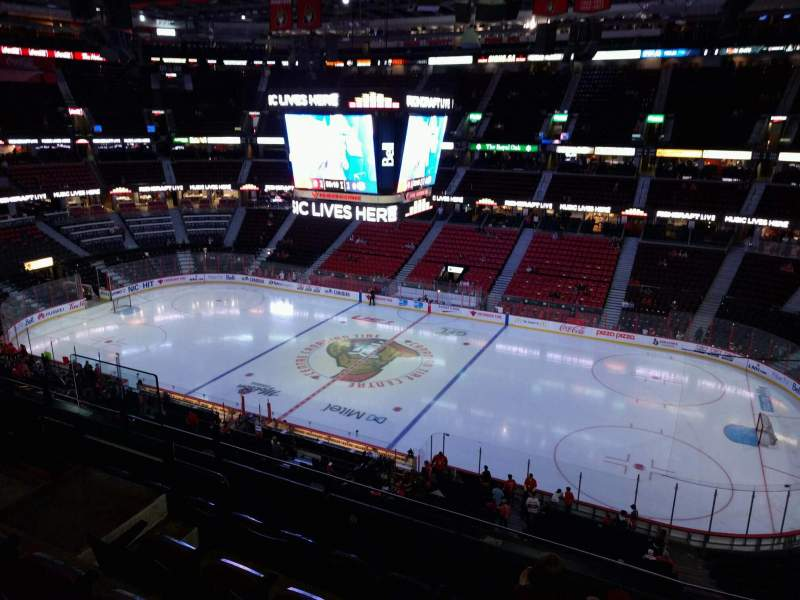 Seating view for Canadian Tire Centre Section 306 Row e Seat 10