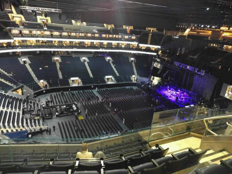 Seating view for Chase Center Section 207 Row 14 Seat 11