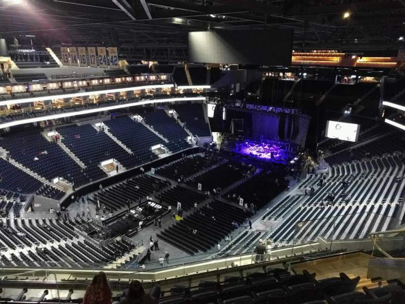 Seating view for Chase Center Section 209 Row 15 Seat 11
