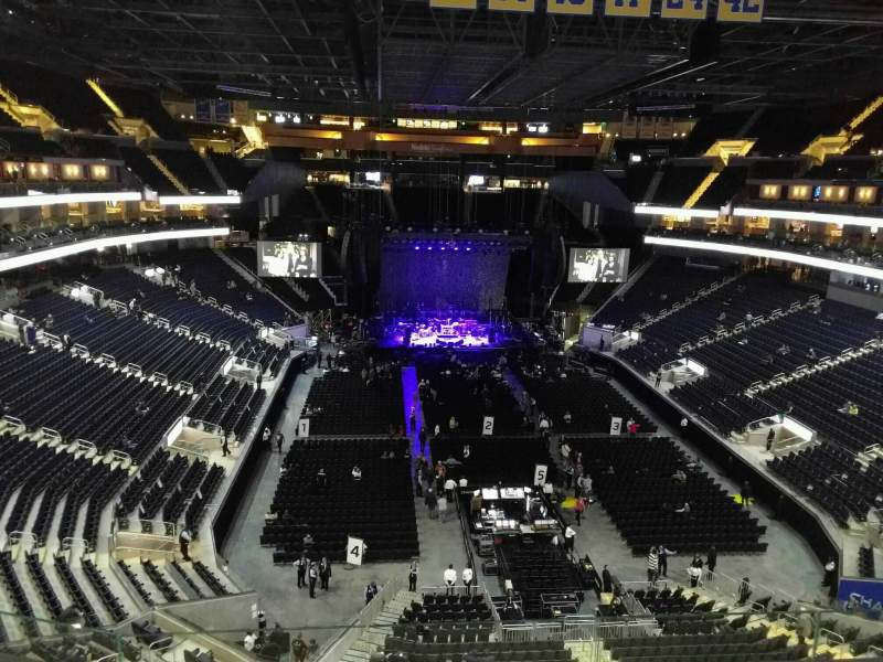 Seating view for Chase Center Section 214 Row 5 Seat 8